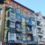 graffiti on Berlin building